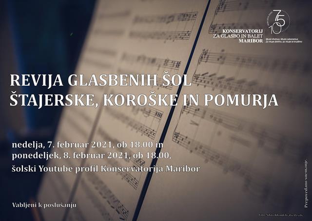 Revija glasbenih šol Štajerske, Koroške in Pomurja
